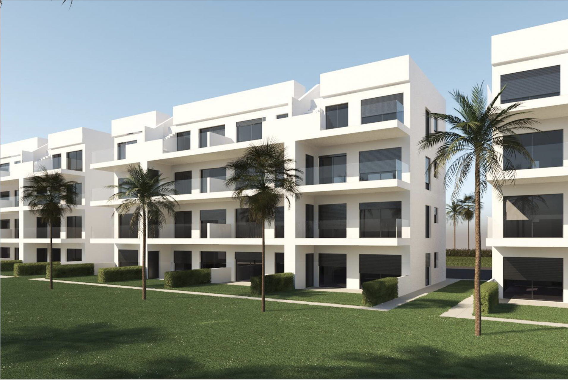 Apartments in Alhama of Murcia 3