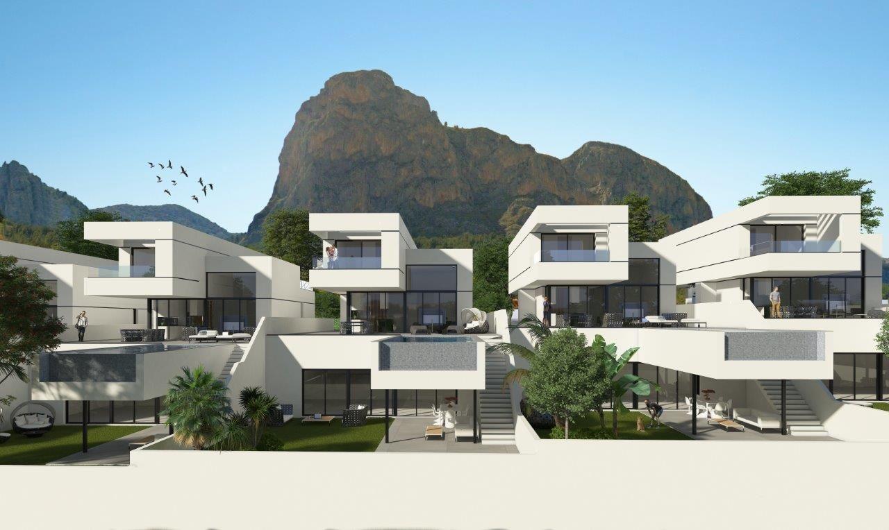 Villas in Polop 8