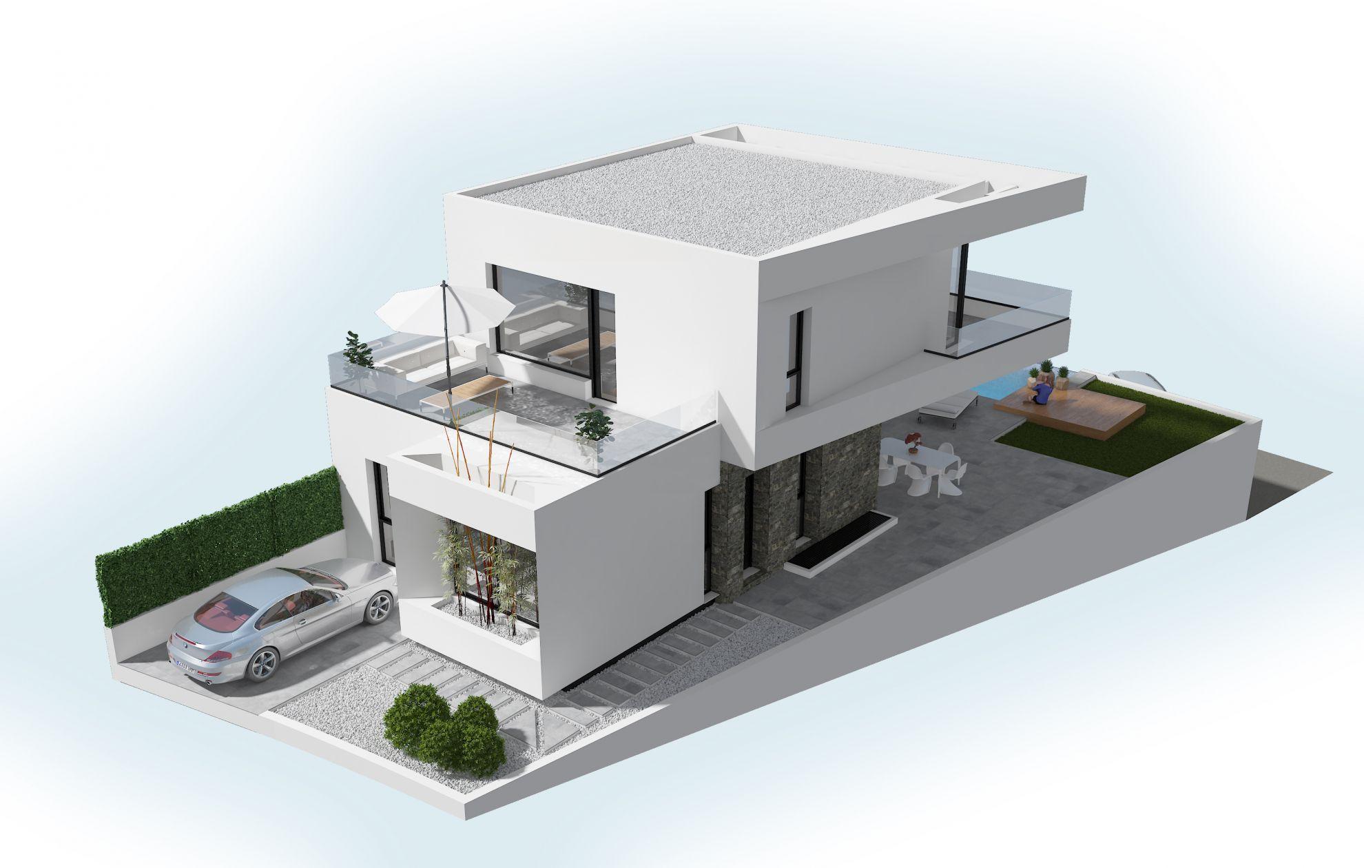 Villas in Ciudad Quesada 6