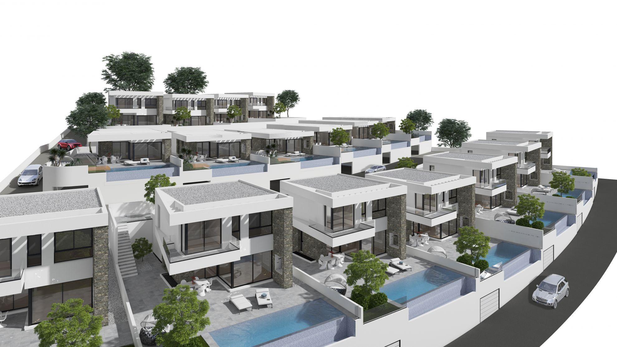 Villas in Ciudad Quesada 17