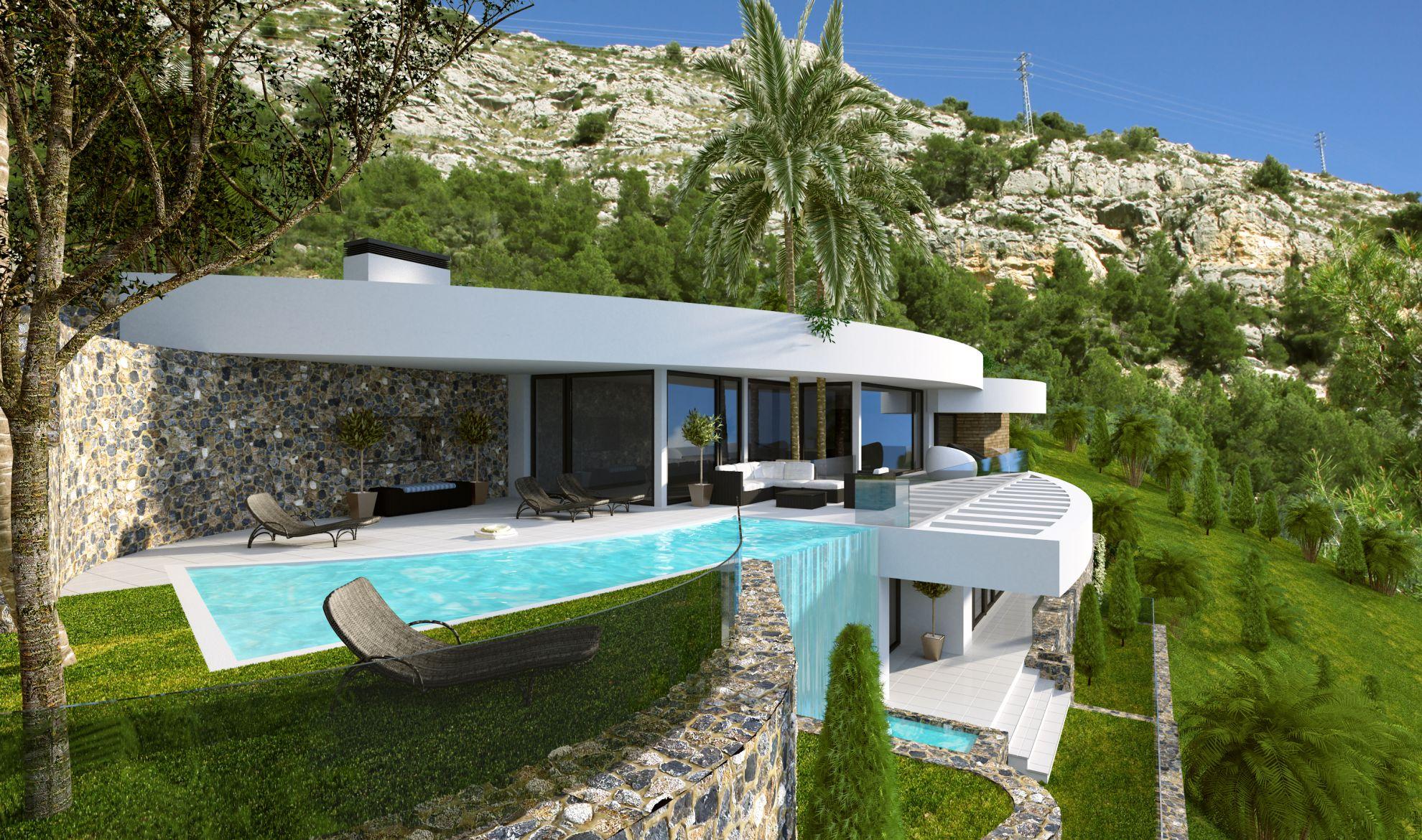 Villas in Altea Hills 1