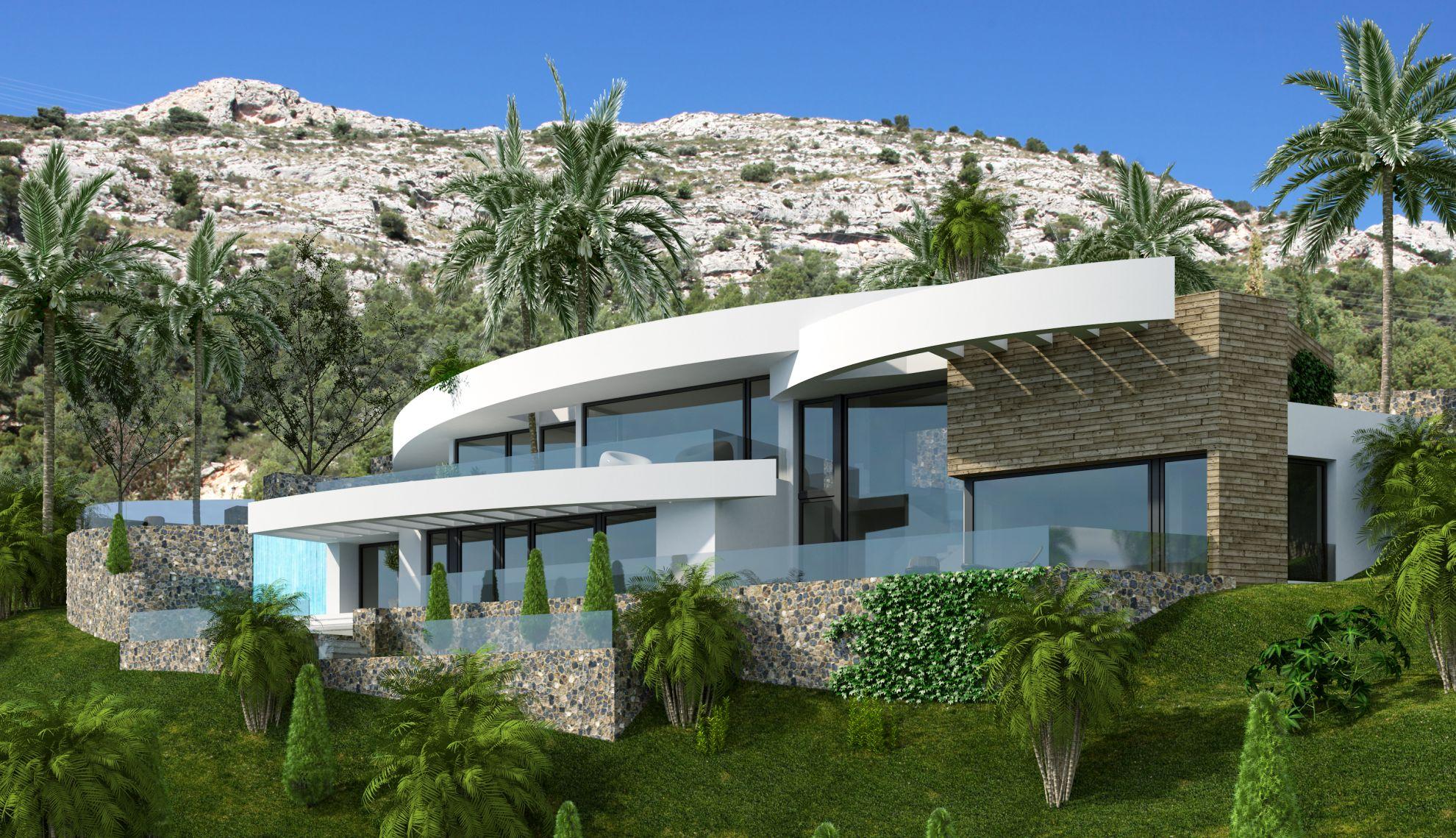 Villas in Altea Hills 2
