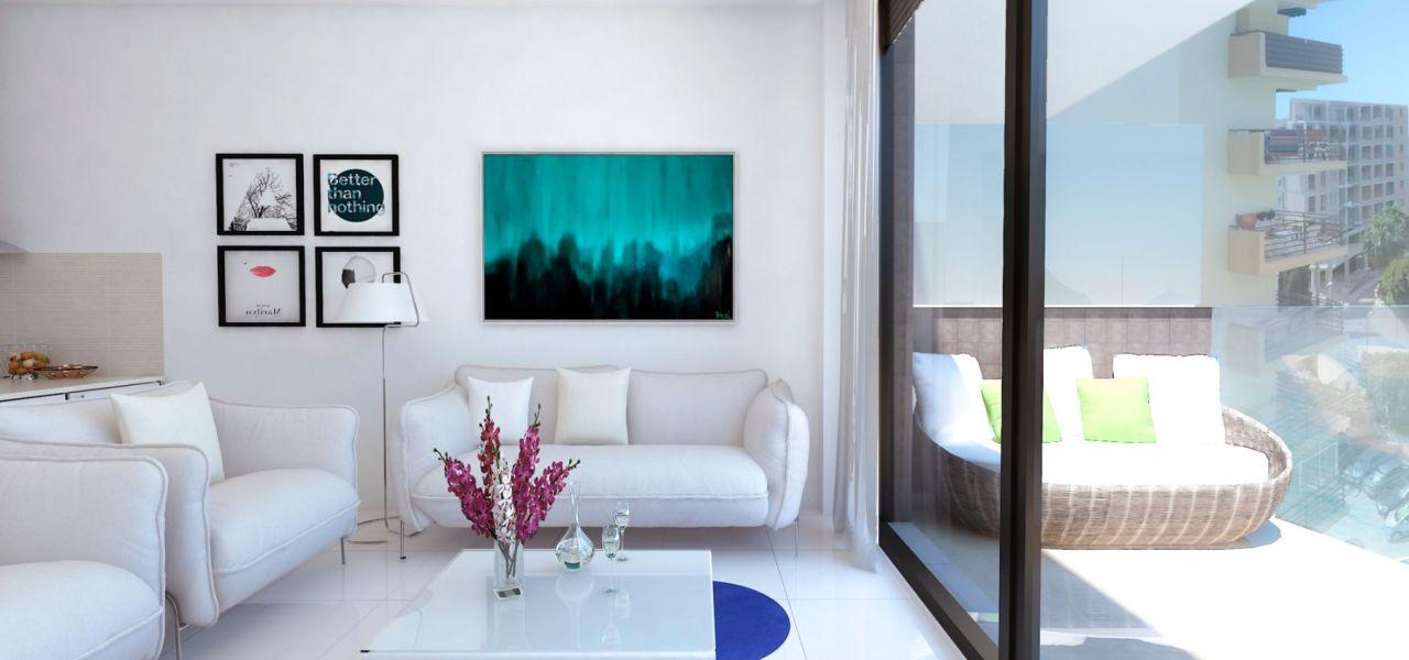 Living room with sea views - Calpe