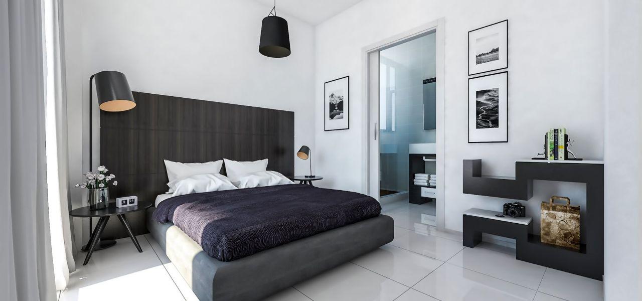 Bedroom with ensuite bathroom Calpe