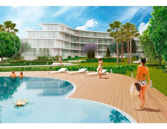 Denia Beach - 2 bedroom apartments with terrace overlooking the sea or with views over the Montgó mountain, at the beach of La Almadraba beach