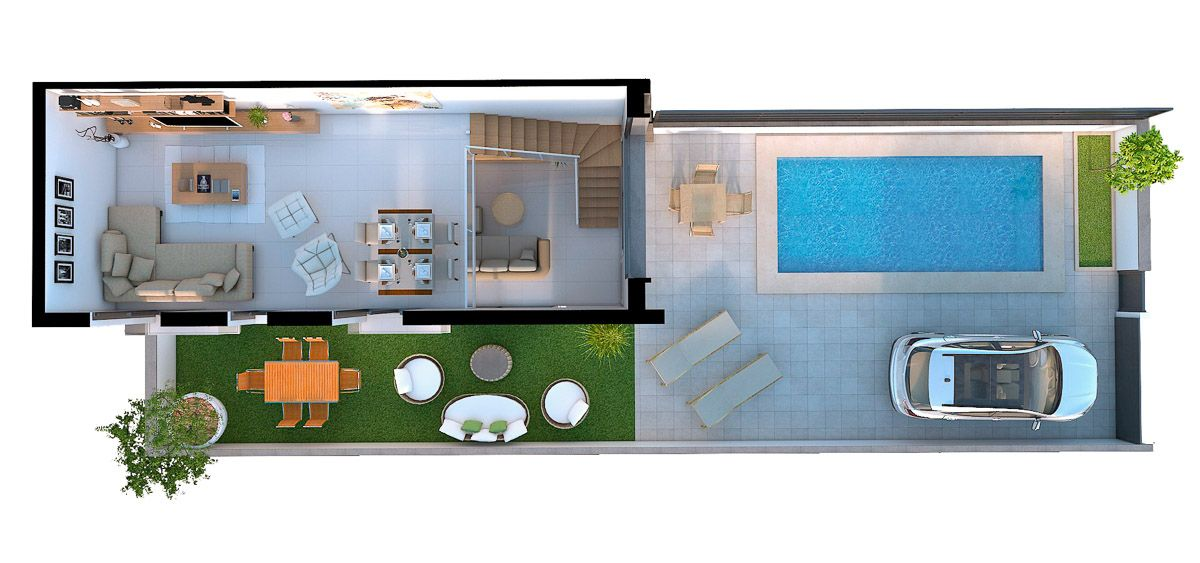 Townhouse in Gran Alacant 4