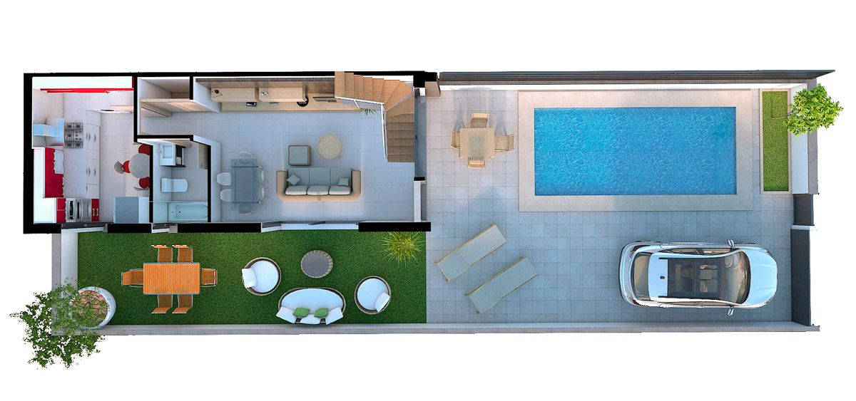 Townhouse in Gran Alacant 6