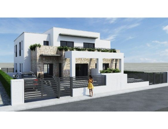 Townhouses with 3 bedrooms and 3 bathrooms, solarium, garden, in urbanization with pool and jacuzzi, Aguas Nuevas. 1