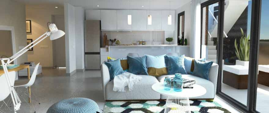 9 and 3 bedroom apartments with terrace nexto Arenal beach in Jávea 6