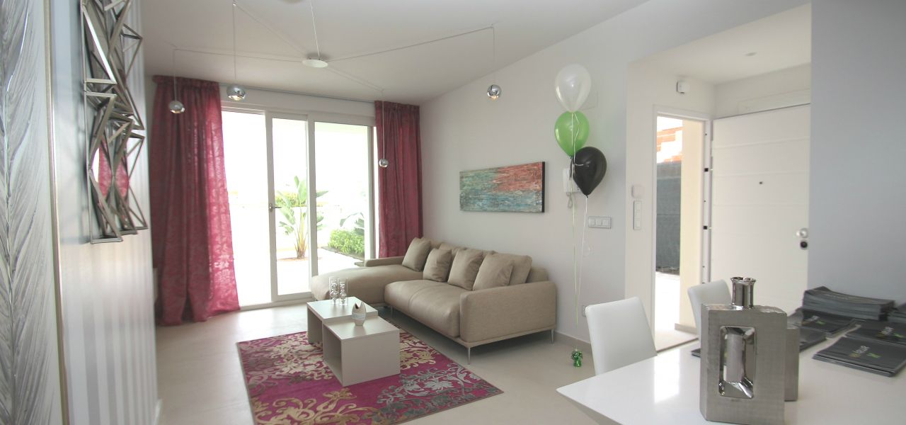3 bedroom modern bungalows with garden or solarium in Torrevieja 6