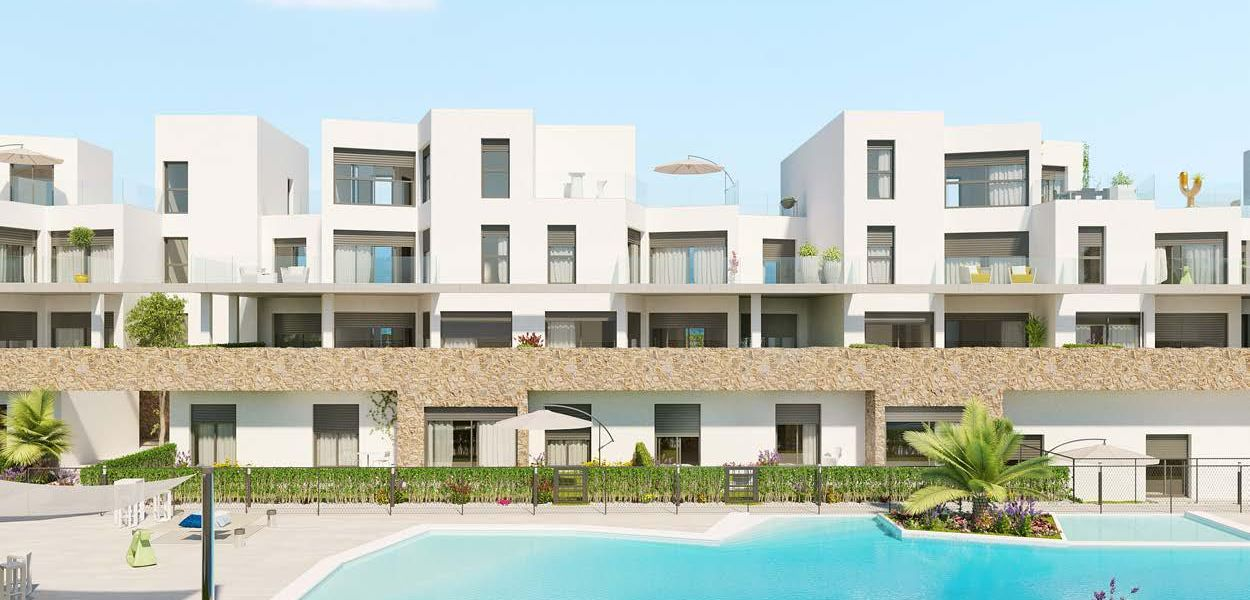 First floor of 2 bedrooms with terrace of 155 m2 3