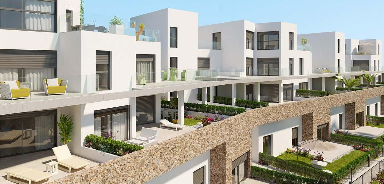 First floor of 2 bedrooms with terrace of 155 m2 4