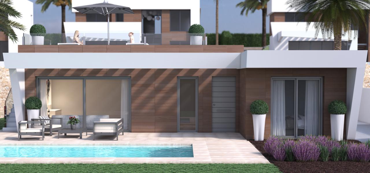 Villas with 3 bedrooms in Finestrat 2
