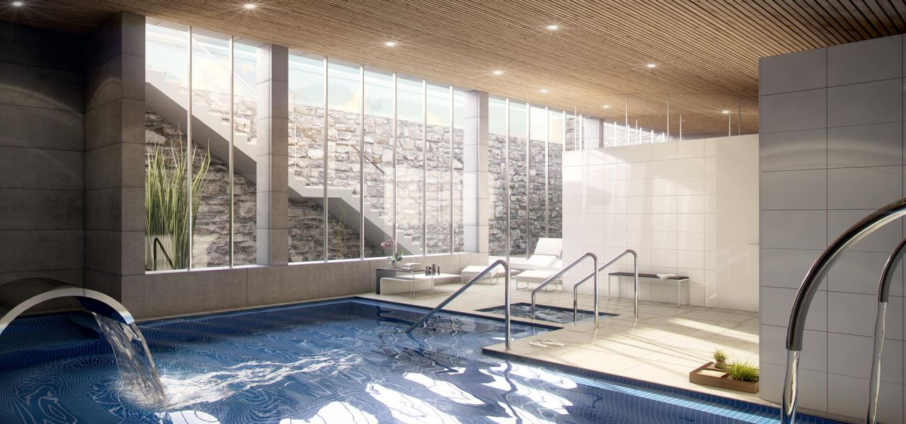 Penthouses with 2 bedrooms and 2 bathrooms in complex with pool, spa, gym, La Zenia. 3