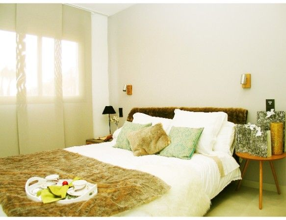 2 and 3 bedroom apartments in urbanization with pool, spa, gym, near the sea. 6