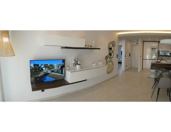 2 and 3 bedroom apartments in urbanization with pool, spa, gym, near the sea. 8