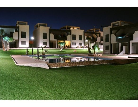 2 and 3 bedroom apartments in urbanization with pool, spa, gym, near the sea. 11