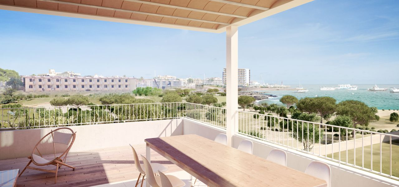 Exclusive 3 bedroom penthouse overlooking the sea and surrounded by nature, only a few minutes to the Es Trenc beach in Majorca 9