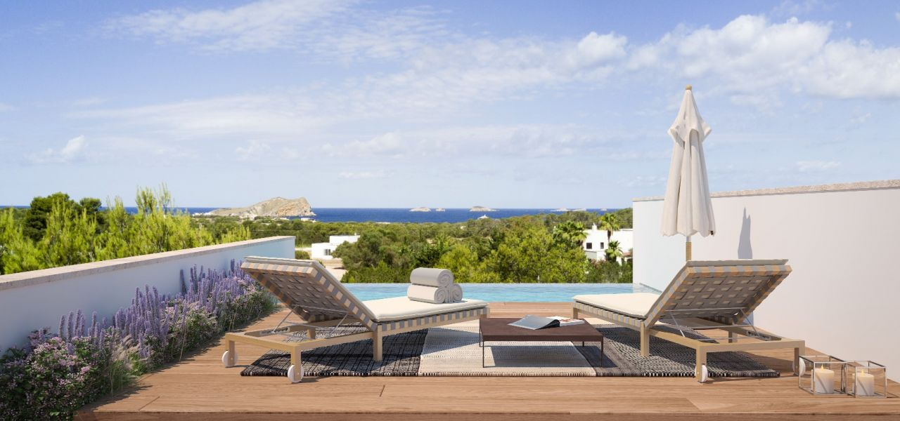Exclusive Luxury Villas in a priviledge enclave of Ibiza (Cala Comte) 1