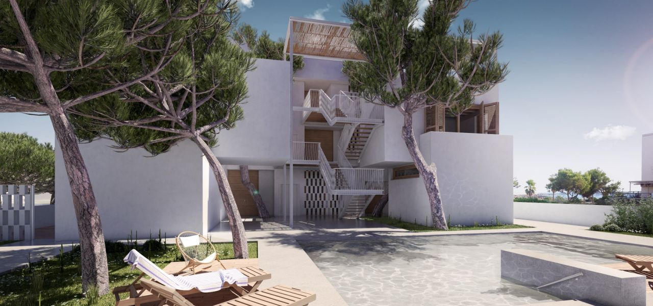 Exclusive Luxury Villas in a priviledge enclave of Ibiza (Cala Comte) 2