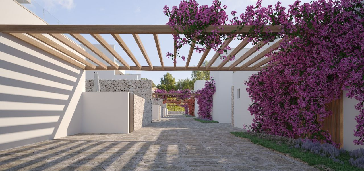 Exclusive Luxury Villas in a priviledge enclave of Ibiza (Cala Comte) 3