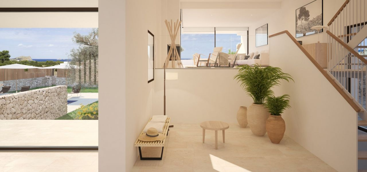 Exclusive Luxury Villas in a priviledge enclave of Ibiza (Cala Comte) 4