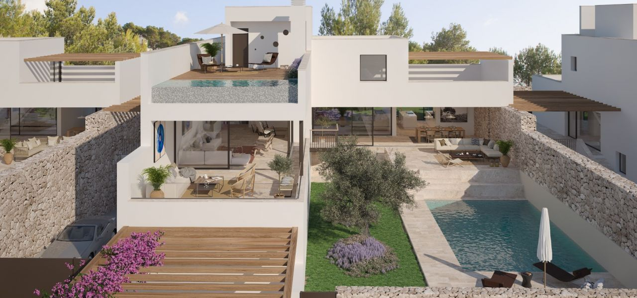 Exclusive Luxury Villas in a priviledge enclave of Ibiza (Cala Comte) 21