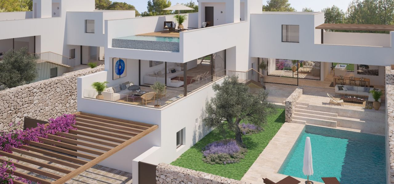 Exclusive Luxury Villas in a priviledge enclave of Ibiza (Cala Comte) 6