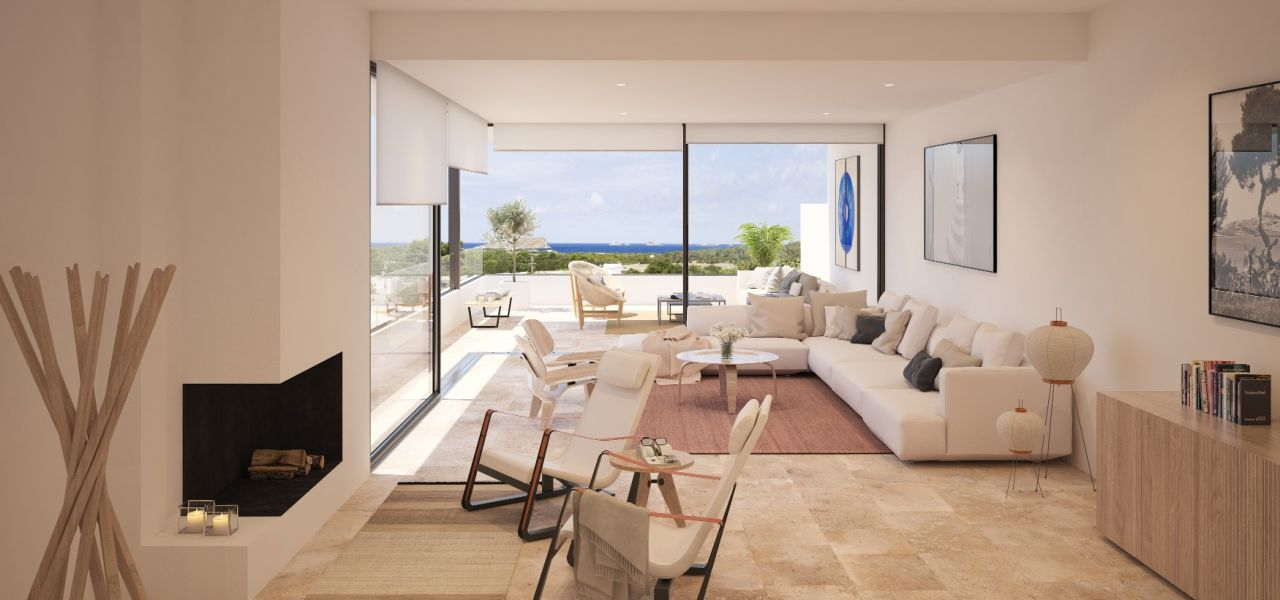 Exclusive Luxury Villas in a priviledge enclave of Ibiza (Cala Comte) 7