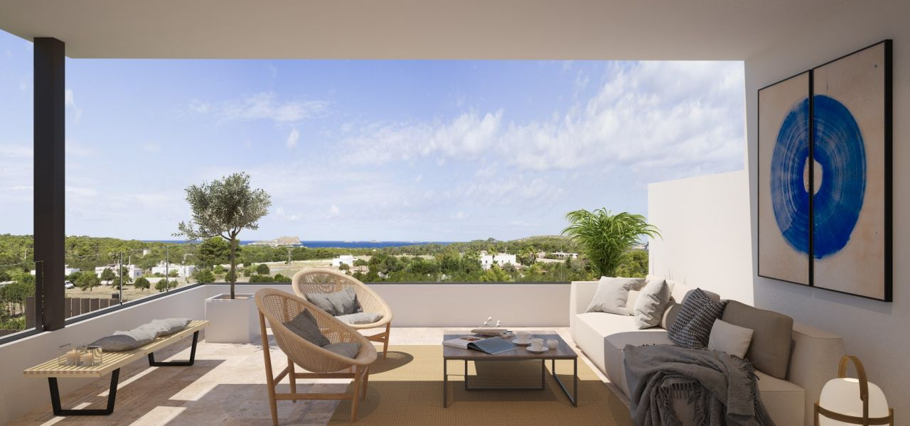 Exclusive Luxury Villas in a priviledge enclave of Ibiza (Cala Comte) 8
