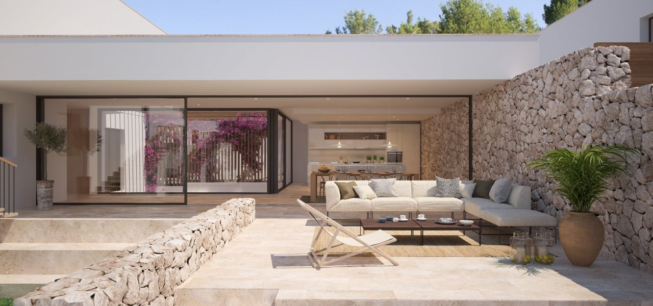 Exclusive Luxury Villas in a priviledge enclave of Ibiza (Cala Comte) 10