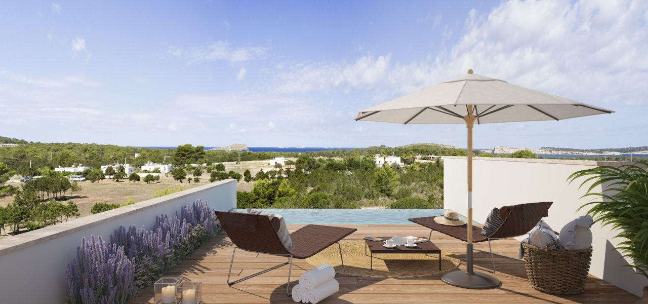 Exclusive Luxury Villas in a priviledge enclave of Ibiza (Cala Comte) 14