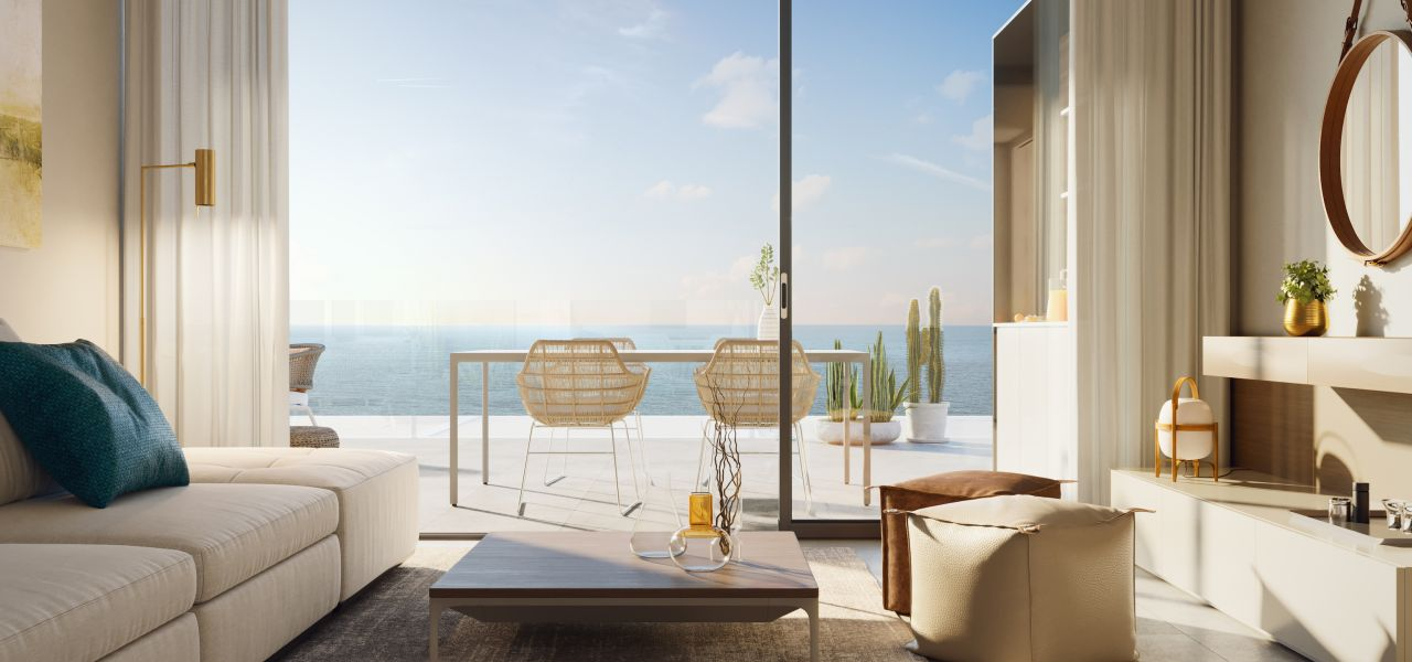 2 and 3 bedroom penthouse-style apartments with big terraces overlookg the sea. House 3 23