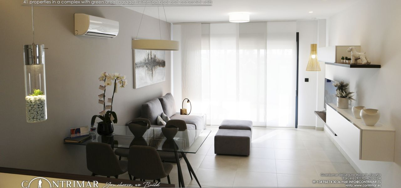 1 bedroom apartment in Guardamar del Segura in a complex with swimming pool and shopping center 7