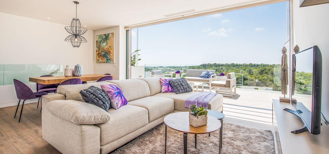 Bright 3 bedrooms duplex-penthouses in La Colina Golf & Country Club 1