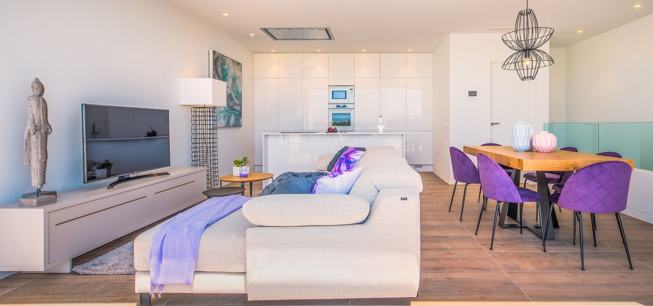 Bright 3 bedrooms duplex-penthouses in La Colina Golf & Country Club 3