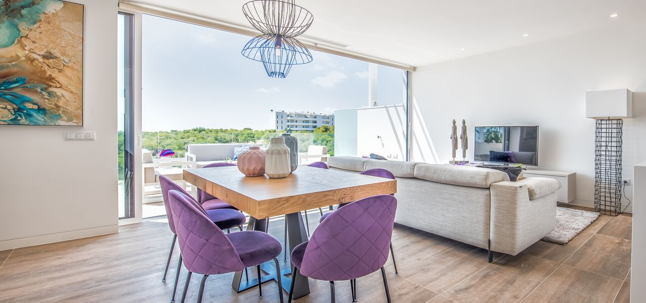 Bright 3 bedrooms duplex-penthouses in La Colina Golf & Country Club 4