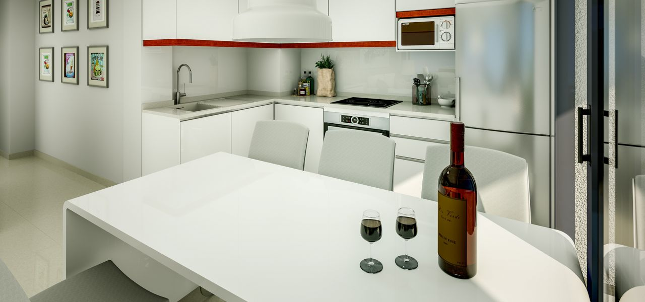 Downtown 2 and 3 bedrooms apartments in Torrevieja, 150 m away from Los Locos Beach 3