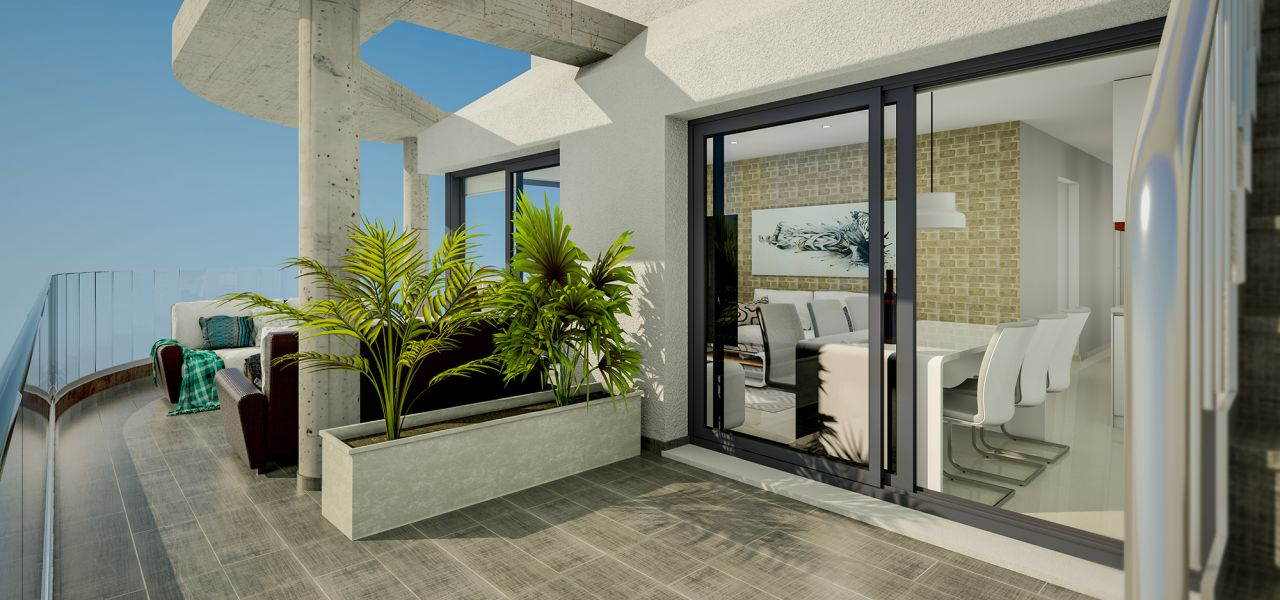 Downtown 2 and 3 bedrooms apartments in Torrevieja, 150 m away from Los Locos Beach 10