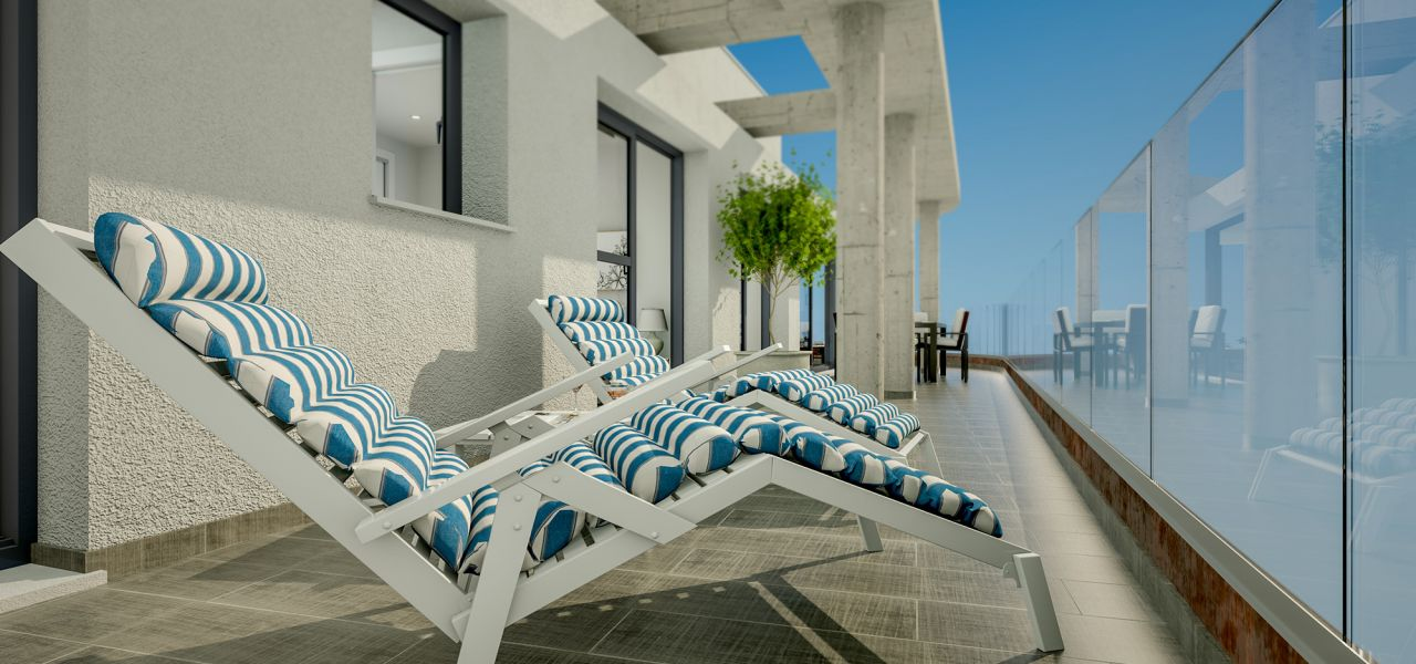 Downtown 2 and 3 bedrooms apartments in Torrevieja, 150 m away from Los Locos Beach 11