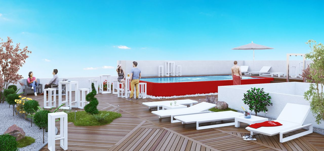 New avant-garde building in the city center of Torrevieja consisting of wonderful 3 bedroom apartments and penthouses 15
