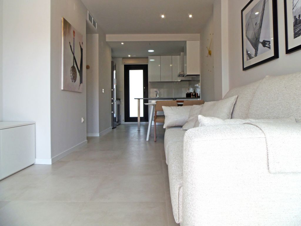 2 and 3 bedroom apartments and townhouses with large terraces and community swimming pool 9