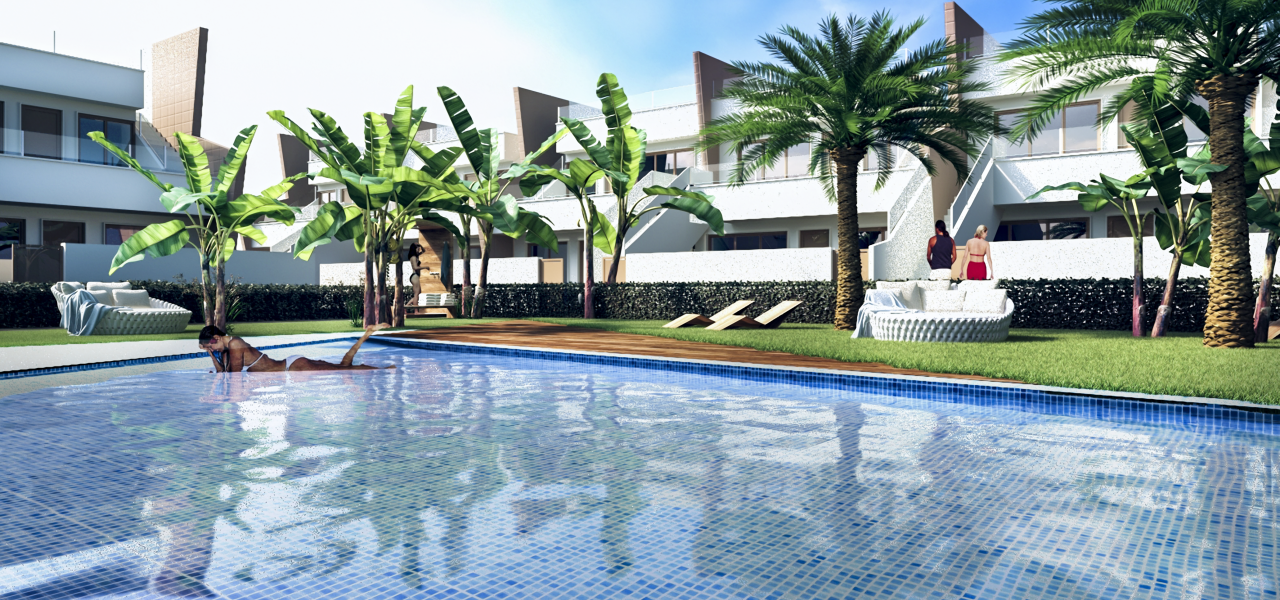 Modern 2 and 3 bedroom apartments in the city center of Pilar de la Horadada 17