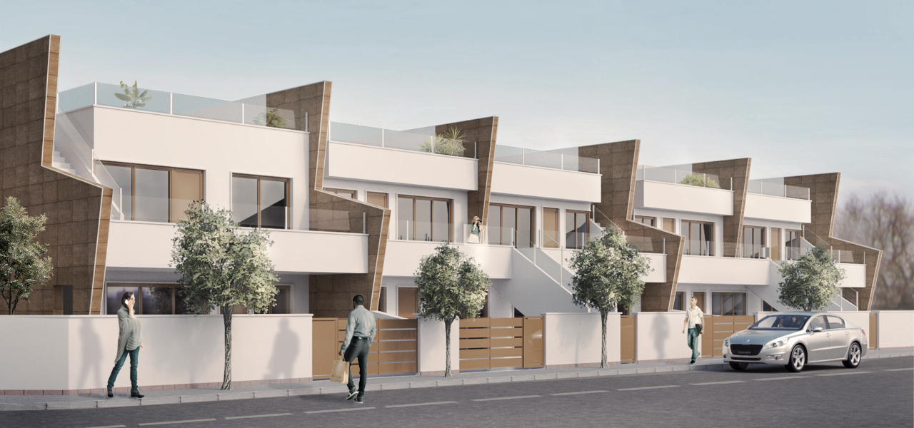 Modern 2 and 3 bedroom apartments in the city center of Pilar de la Horadada 18