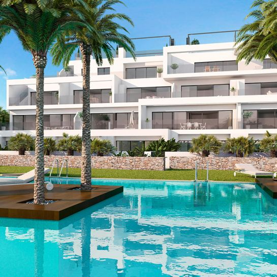 Luxury golf apartments