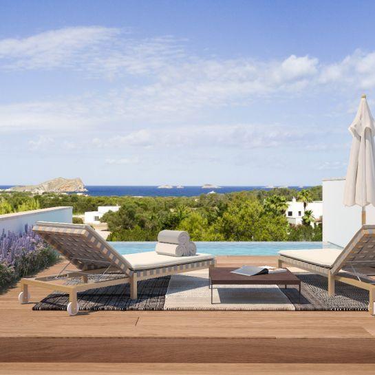 Luxury villas in Cala Comte, Ibiza