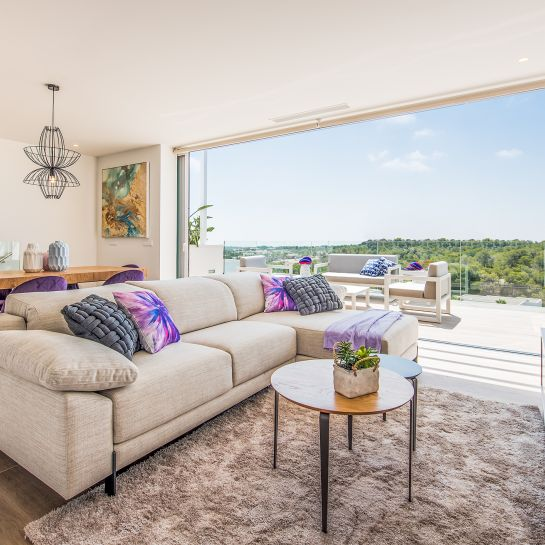 Bright 3 bedrooms duplex-penthouses in La Colina Golf & Country Club