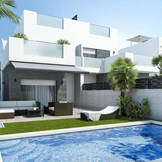Apartments and villas luxury in Ciudad Quesada