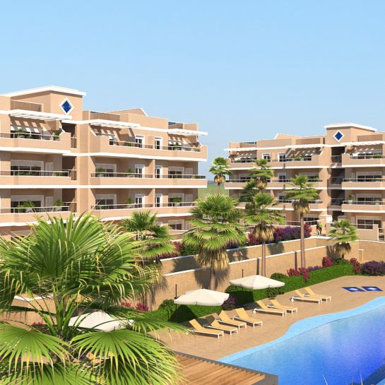 Apartments in Villamartin