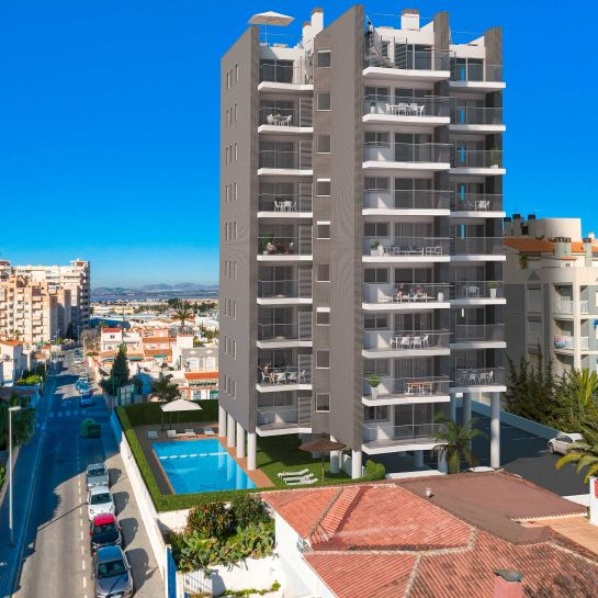 Apartments in the center of Torrevieja